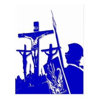 Crucifixión - Jesús en la cruz - Viernes Santo Postales