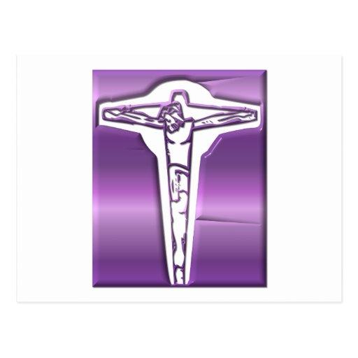 Crucifixión - Jesús en la cruz - Viernes Santo Tarjetas Postales
