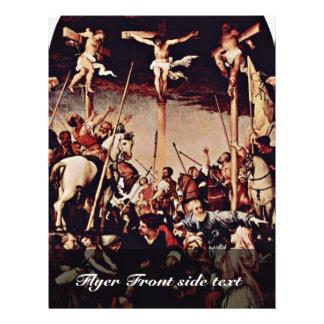Crucifixión por la loteria Lorenzo (la mejor calid Folleto 21,6 X 28 Cm