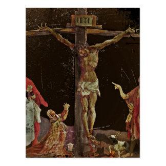 Crucifixión salterio del panel central