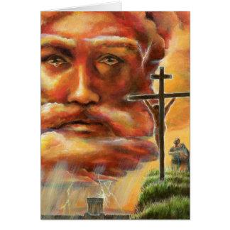 Crucifixión, Viernes Santo Tarjeta De Felicitación