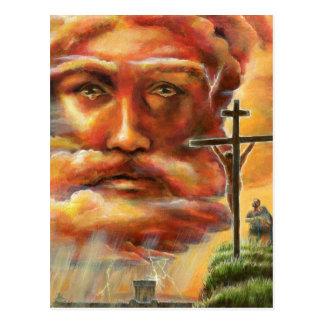 Crucifixión, Viernes Santo Postal