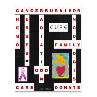 Crucigrama del cáncer postal