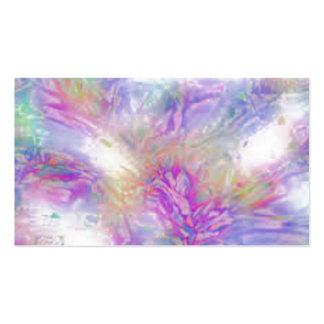 Crujido en colores pastel tarjetas de visita