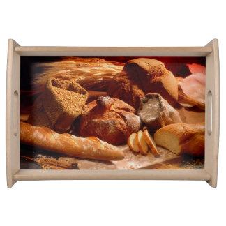 Crunchy Loafs Servicio Plano Bandejas