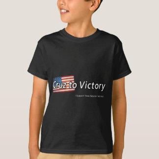Cruz a la victoria camiseta