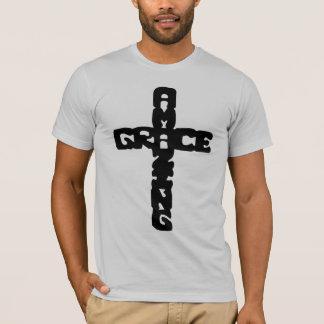 Cruz asombrosa de la tolerancia camiseta