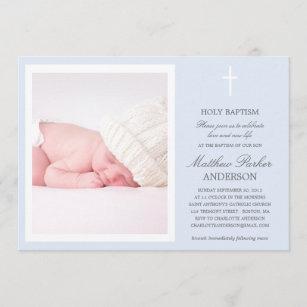 CRUZ AZUL  INVITACIÓN AL BAPTISMO