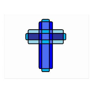 Cruz azul postal