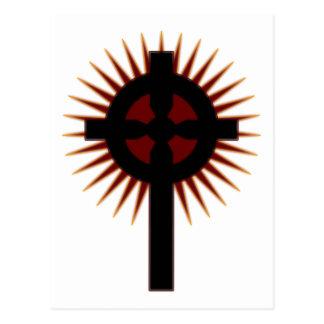 Cruz céltica #5 postal