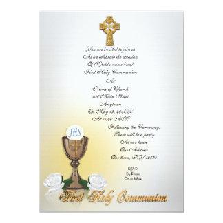 Cruz céltica de la primera invitación de la