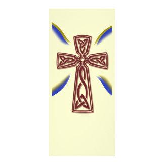 Cruz céltica - señal tarjeta publicitaria personalizada