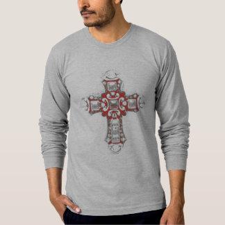 Cruz cristiana camisetas