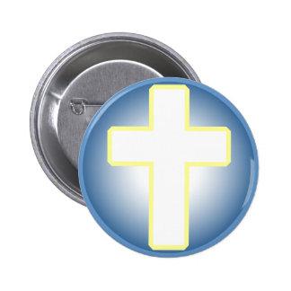 Cruz cristiana pin