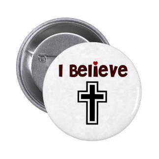 Cruz cristiana chapa redonda 5 cm