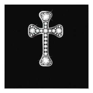 """Cruz cristiana con las piedras del """"diamante"""" comunicados personales"""