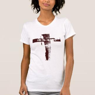 Cruz cristiana LO SUBEN Camiseta