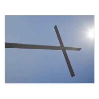 Cruz cristiana postal