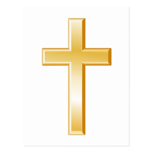 Cruz cristiana postales