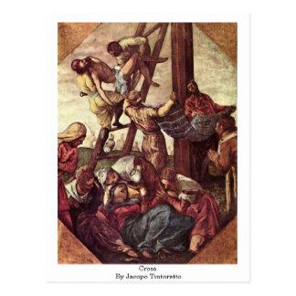 Cruz de Jacopo Tintoretto Postal