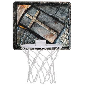 Cruz de la protección mini tablero de baloncesto