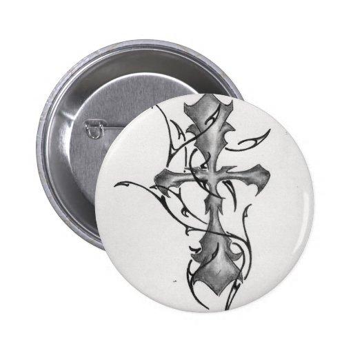 cruz de photo-9.JPG con tribal Pins