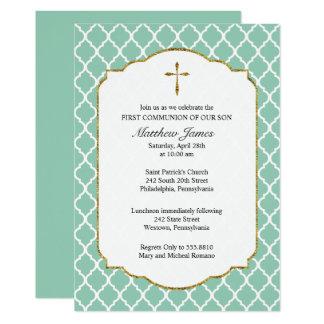Cruz del oro, invitación de la comunión de