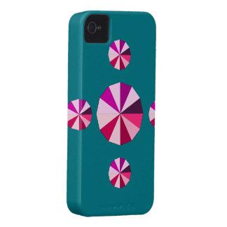 cruz del rosa iPhone 4 protectores