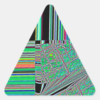 Cruz del sur reconstruida calcomanías de triangulos personalizadas