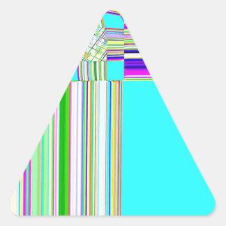 Cruz del sur reconstruida calcomanías de triangulos