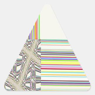 Cruz del sur reconstruida calcomanías trianguloes personalizadas