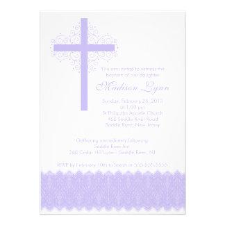 Cruz elegante del bautizo del bautismo el del co