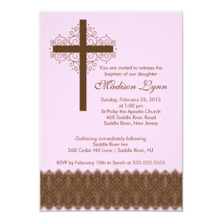 Cruz elegante del bautizo del bautismo el | del