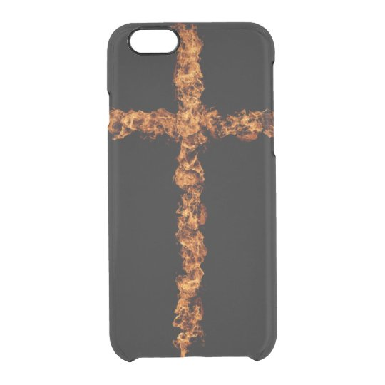 Cruz Funda Transparente Para iPhone 6/6S