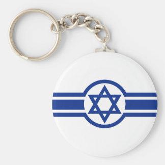 Cruz israelí del este de Israel David de la Llaveros Personalizados