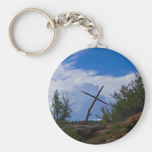 cruz llavero personalizado