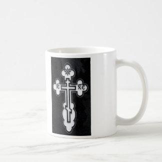 Cruz ortodoxa griega taza clásica