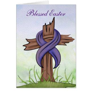 Cruz religiosa tarjeta pequeña