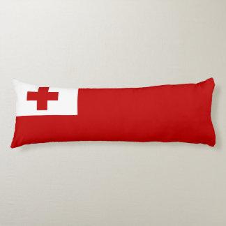 Cruz Roja de la bandera de la isla de Tonga