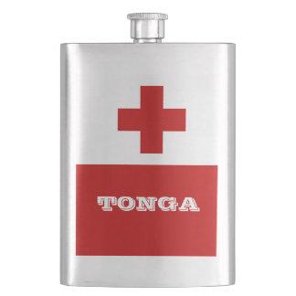Cruz Roja de la bandera de la isla de Tonga Petaca
