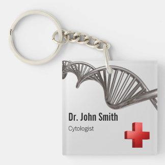 Cruz Roja médica profesional de la DNA - llavero