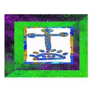 Cruz santa - ámele Jesús Postal