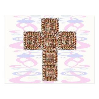 Cruz santa:  Jesús mi campeón Postal