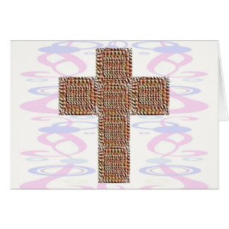Cruz santa:  Jesús mi campeón Tarjeta De Felicitación