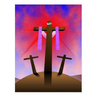 Cruz santa postal