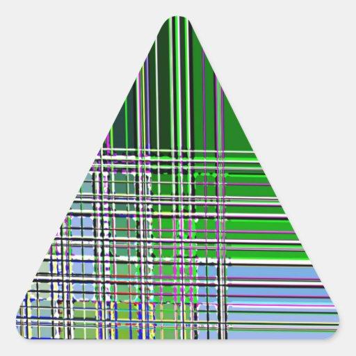 Cruz septentrional reconstruida calcomanías de trianguladas