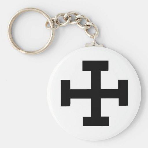 Cruz teutónica llaveros