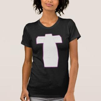 cruz tridimensional de la nebulosa de la cadera camiseta