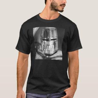 Cruzado - Outta recto la Tierra Santa Camiseta