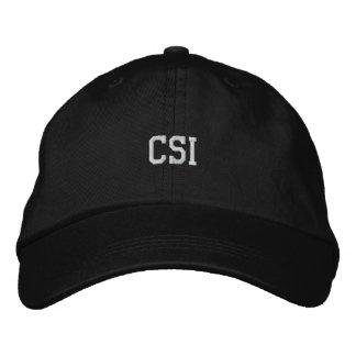 CSI bordó el gorra
